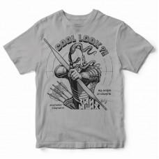 футболка Cool Look  сіра
